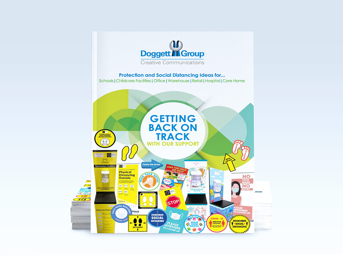 Getting Back on Track Social Distancing brochure