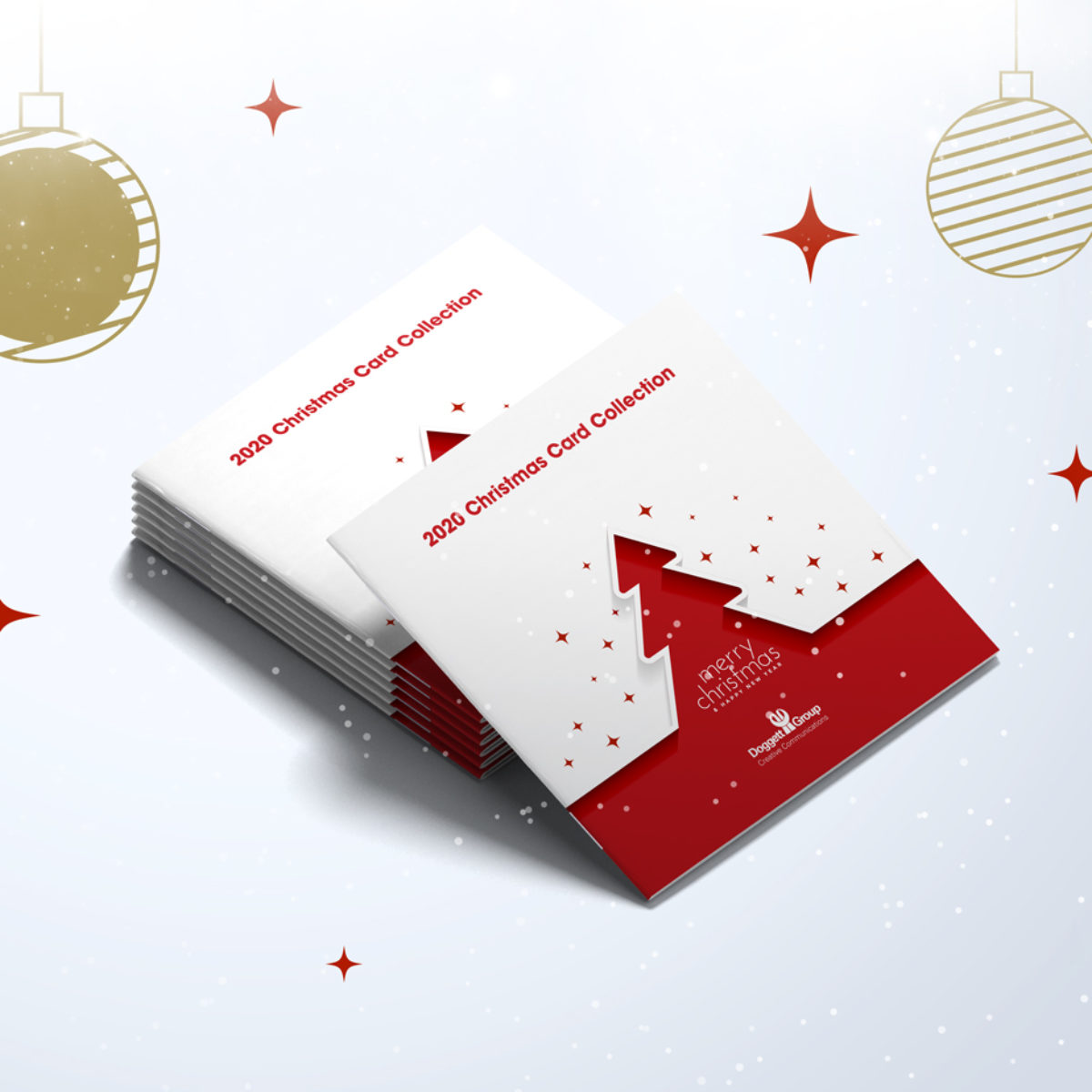Doggett Group Christmas cards brochure